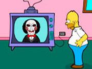 Игра Гомер Симпсон и Пила