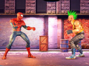 Игра Человек Паук: Уличный Боец