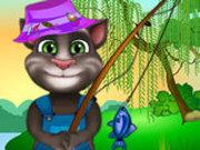 Игра Кот Том на Рыбалке