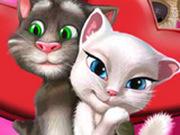 Игра Поцелуи: Том Целует Анжелу