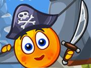 Игра Спрячь Апельсин: Пираты