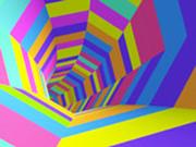 Игра Цветной Туннель