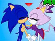 Игра Поцелуи Соника