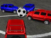 Игра Футбол на Машинах 4х4
