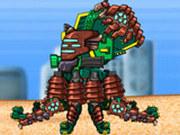 Игра Роботы Динозавры: Октопус