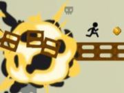 Игра Полоса препятствий Стикмена 2