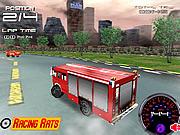 Игра Пожарная машина 3D
