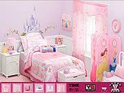 Игра Скрытые символы - комната девочки