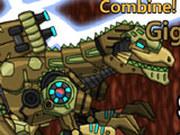 Игра Роботы Динозавры: Гигантозавр