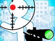 Игра Стикмен Снайпер: Нажми, Чтобы Убить