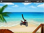 Игра Пляжный гонщик