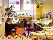 Игра Моя комната: Найди предметы