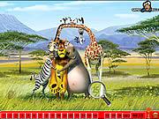 Игра Спрятанные номера - Мадагаскар