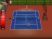 Игра Теннис в одно касание