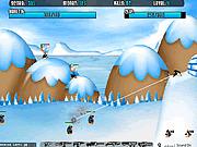 Игра Атака на пингвинов