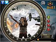 Игра Обитель зла: Возмездие - Найди Буквы