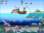 Игра Ловим рыбку