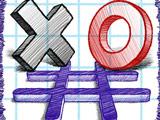 Игра Крестики Нолики в Блокноте на Двоих