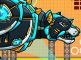Игра Робот Полицейский: Железная Пантера