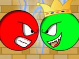 Игра Красный Шар Против Зелёного Короля