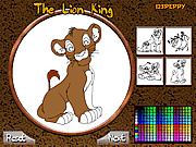 Игра The Lion King Online Coloring