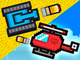 Игра Пиксельные Битвы на Двоих
