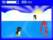 Игра Пингвины на коньках