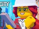Игра Приключения в Лего Сити: Строй и Защищай