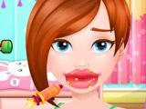 Игра Уход за Губами для Девочек