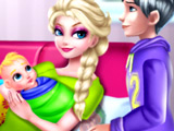 Игра Рождение Ребенка Эльзы и Джека