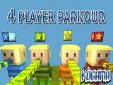 Игра Когама Паркур 4 Игрока
