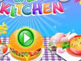 Игра Готовим Еду на Кухне
