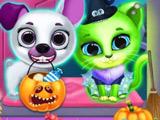 Игра Хэллоуин: Салон Красоты для Питомцев