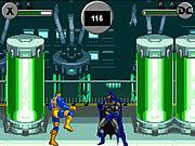 Игра Люди Икс против лиги Джастина