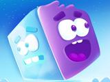 Игра Ледяная Фиолетовая Голова: Супер Слайд