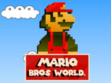 Игра Мир Марио Брос