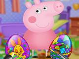 Игра Свинка Пеппа и Пасхальные Яйца