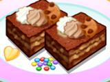 Игра Кухня Сары: Карамельно- Ореховый Кекс