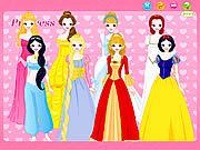Игра Одевалки: Принцесса Диснея