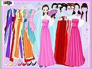 Игра Платье и халат Dressup